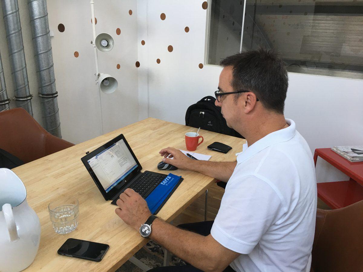 Heike Dohn IT-Beratung arbeitet im Coworking Space Now-Mitte Berlin